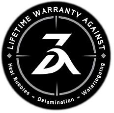 ZEFR Fusion Boards Warranty Logo