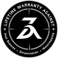 ZEFR Fusion Boards Warranty Logo